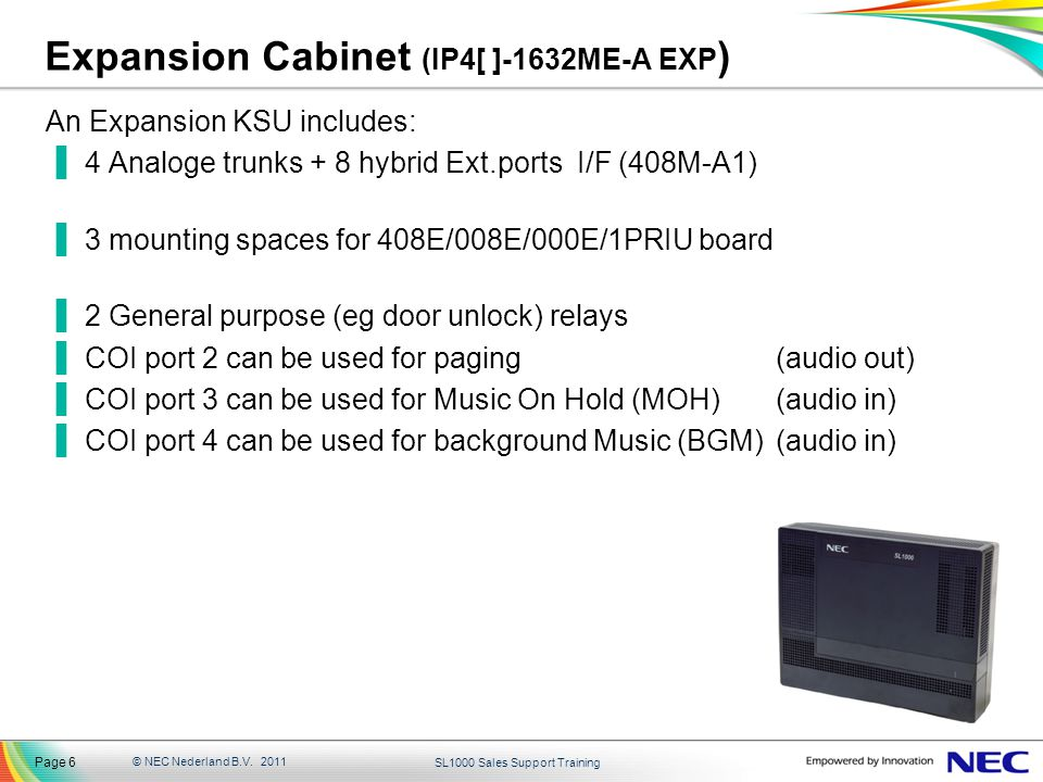 Expansion Cabinet (IP4[ ]-1632ME-A EXP)